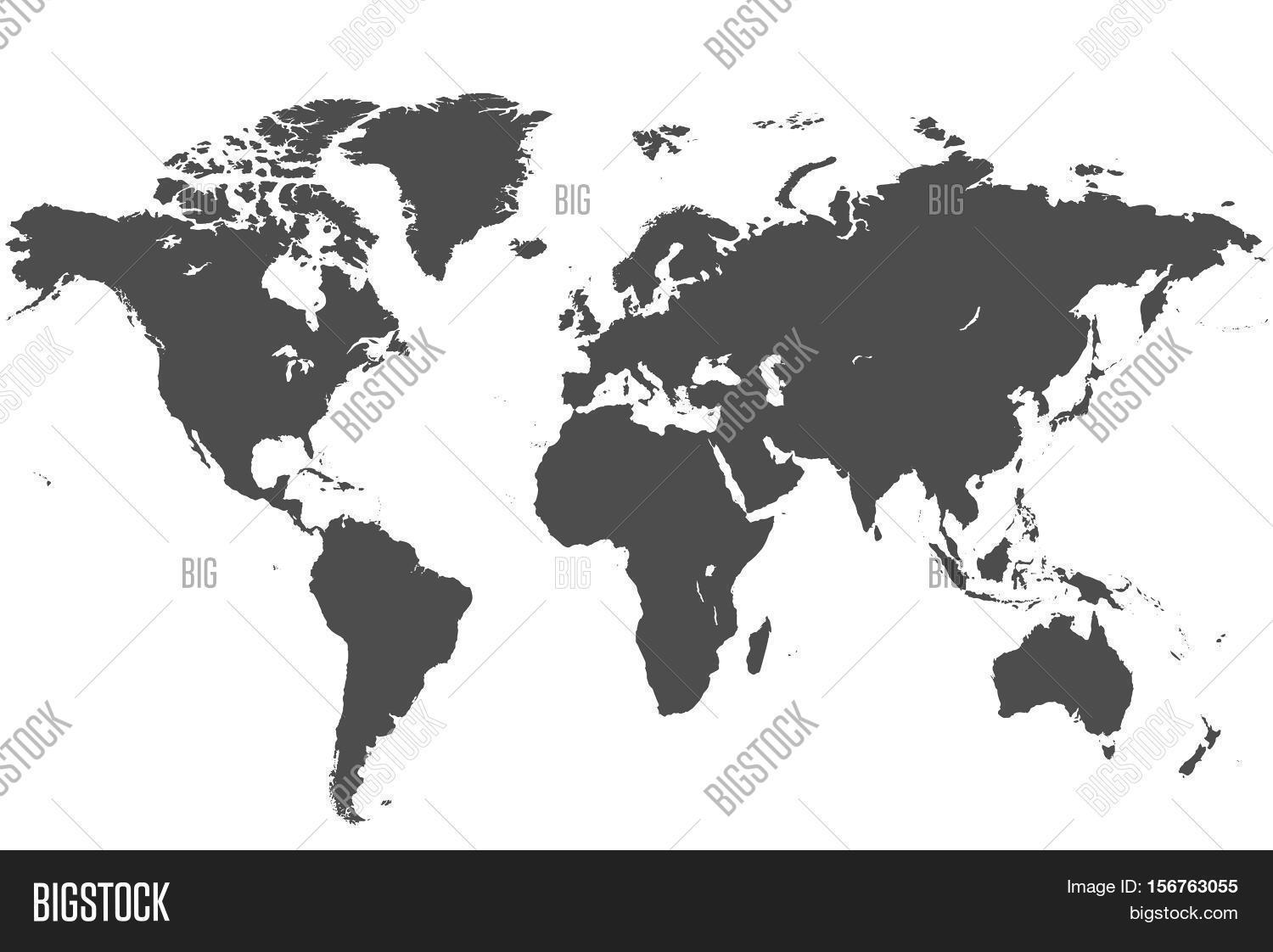 Map world world map high image photo bigstock map of the world world map high resolution in grey gumiabroncs Choice Image