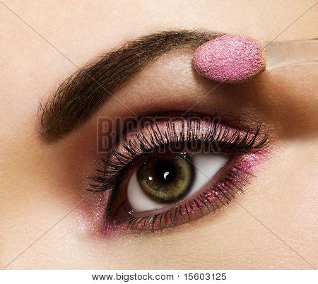 Woman beautiful eye