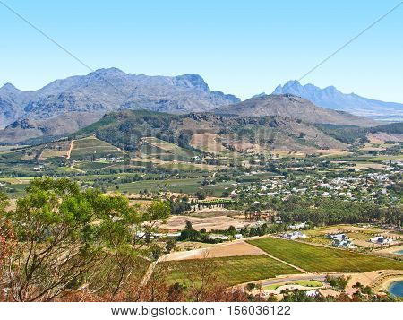 Franchhoek Valley, Western Cape, South Africa 12tyu
