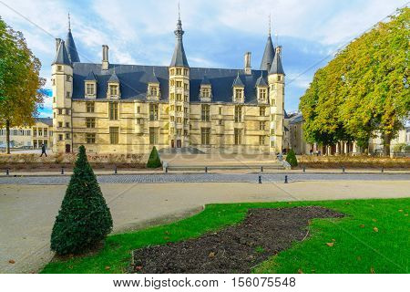 Ducal Palace In Nevers