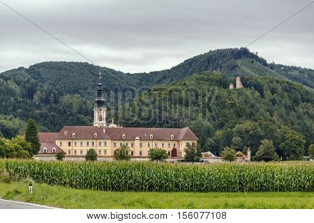 View of Rein Abbey is a Cistercian monastery in Styria in Austria. It is the oldest surviving Cistercian community in the world