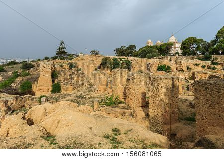 Ancient Ruins Of Carthage