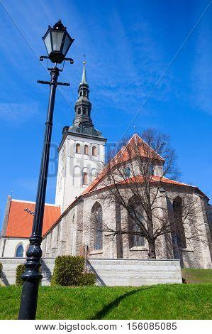 Old Street Lamp, Tallinn, Estonia