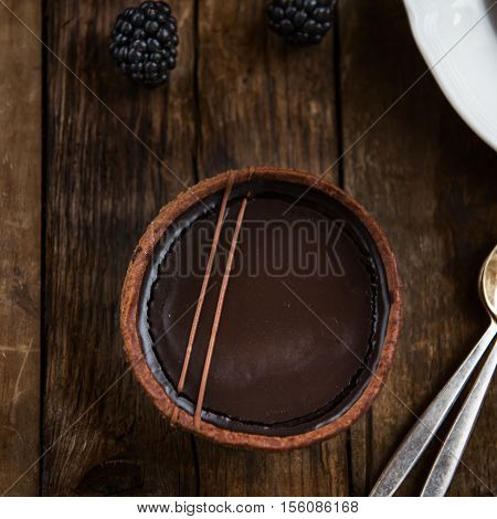Handmade Rich Chocolate Tartlets