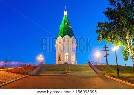 Paraskeva Pyatnitsa Chapel, Krasnoyarsk