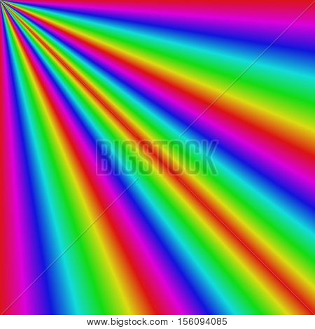 Gradient abstract sun light refraction background design