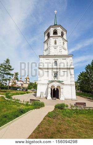 Church Chist Saviour, Irkutsk