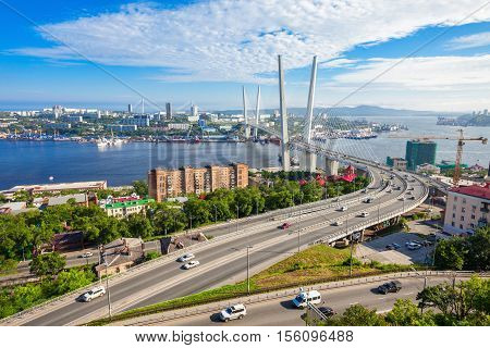 Zolotoy Golden Bridge, Vladivostok