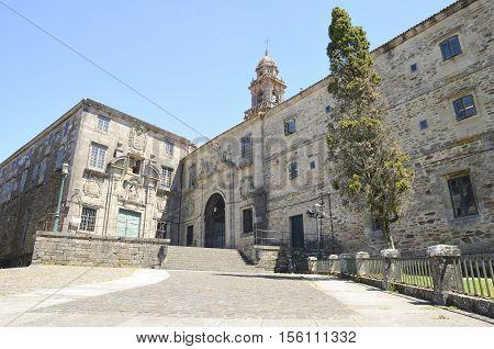 Dominican monastery in Santiago de Compostela Galicia Spain.