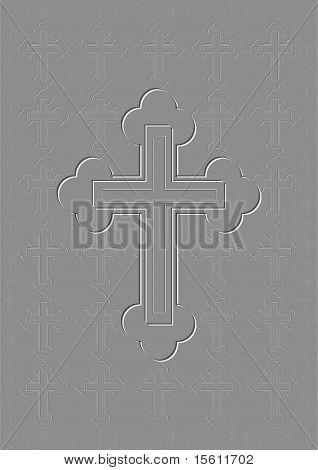 Extruded cross.