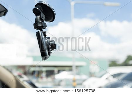 Car DVR Front camera car recorder  .