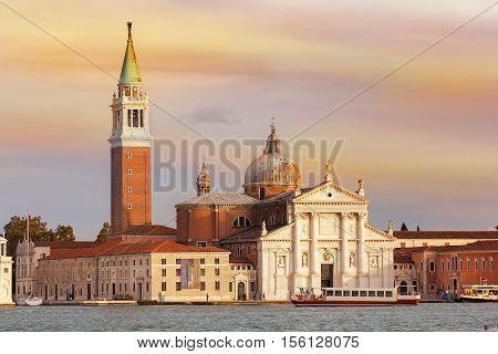basilica San Giorgio Maggiore is a 16th-century benedictine church on the island of the same name in Venice, Italy