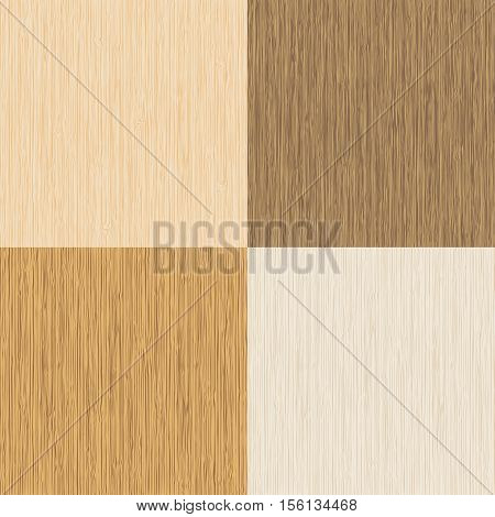 Wood texture background. Set of vector wood texture backgrounds