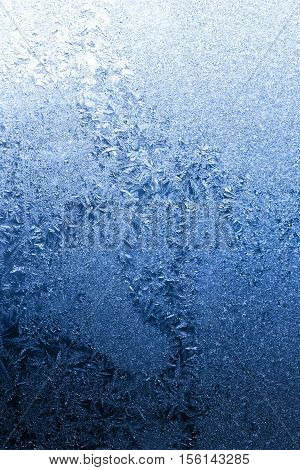 Cold Winter Frost Background