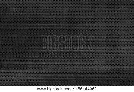 Rough textured dark black metal photo background