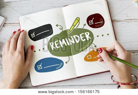 Plan Task Memo List Concept