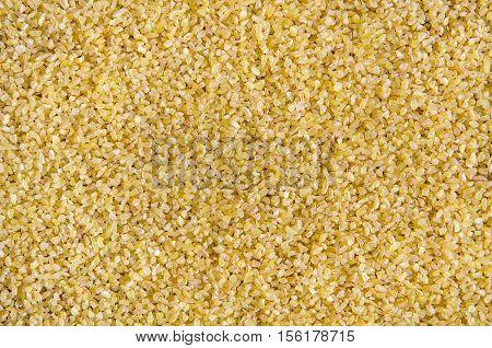 Bulgur background. Durum wheat. Healthy lifestyle concept.