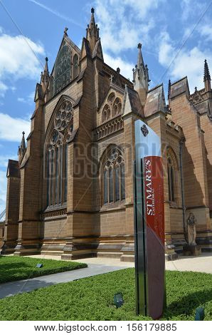 St Mary's Cathedral Sydney New South Wales Australia