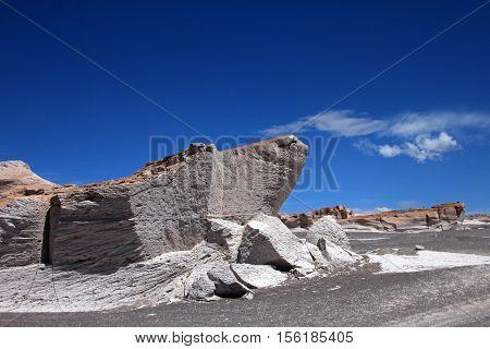 Pumice stones at Campo de Piedra Pomez, near Fiambala, Catamarca, Argentina