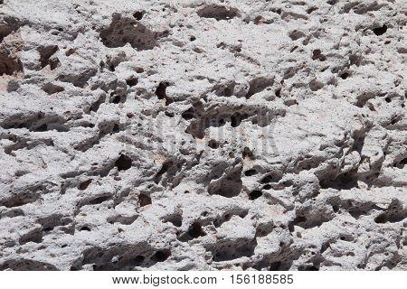 Close up of pumice stones at Campo de Piedra Pomez, near Fiambala, Catamarca, Argentina