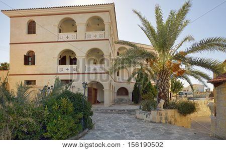 Byzantine Museum of Bishopric of Arsinoe Peristerona Paphos Cyprus