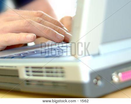 Laptop Closeup