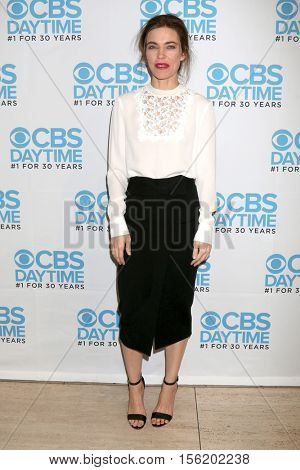 LOS ANGELES - NOV 10:  Amelia Heinle at the Young & Restless Celebrate CBS 30 Years at #1 at Paley Center For Media on November 10, 2016 in Beverly Hills, CA