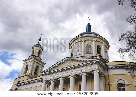 Temple of the Resurrection in the village of Selco-Karelian.