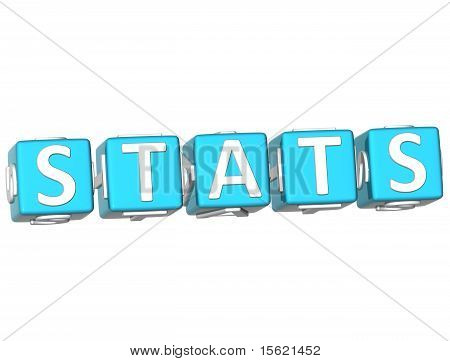 Stats Cube Text