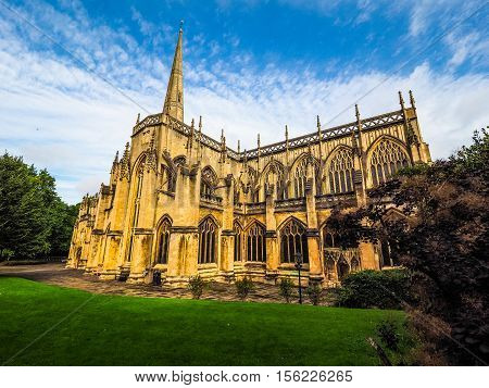 Hdr St Mary Redcliffe In Bristol