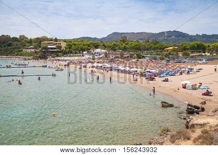 Agios Nikolaos Beach, Greek Island Of Zante