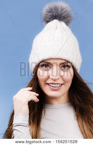 Woman In Thermal Underwear
