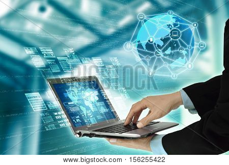 Internet Server Programming Technology Concept