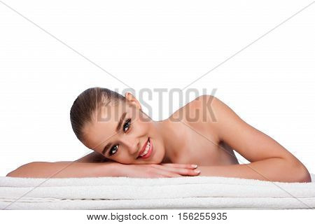 Beauty Woman At Spa