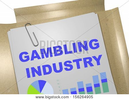 Gambling Industry - Business Concept