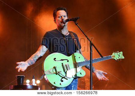 LAKE WALES, FL-NOV 5: Gary Allan performs at the CountryFlo Music and Camping Festival on November 5, 2016 in Lake Wales, Florida.