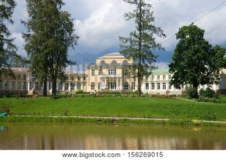 ANDRIANOVO, RUSSIA - JULY 31, 2016: July day in the ancient noble estate
