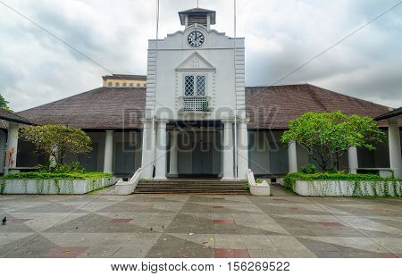Old Court House Building In Kuching