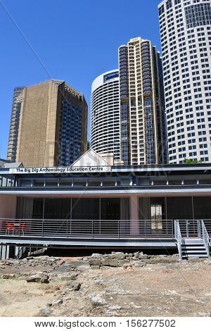 The Big Dig Archaeology Education Centre The Rocks In Sydney Australia