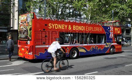 Sydney Hop-on Hop-off Bus Sydney New South Wales Australia