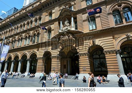 General Post Office Building Sydney New South Wales Australia