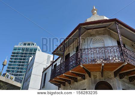 Victorian Terraced Houses In Sydney Australia