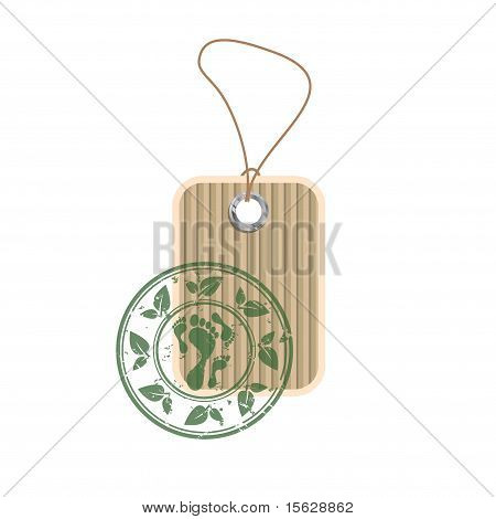 Paper Tag With Stamp
