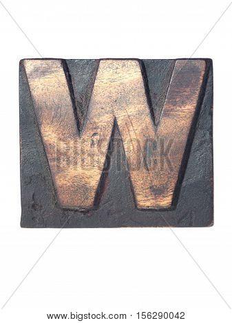 Wooden W Typeface