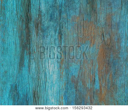 Color Painted Old Grunge Wood Wal, Texture Or Vinrage Wood Background.
