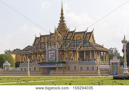 Phnom Penh Royal Palace Complex