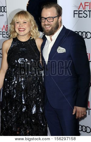 LOS ANGELES - NOV 11:  Alison Pill, Joshua Leonard at the