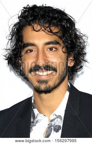 LOS ANGELES - NOV 11:  Dev Patel at the LION AFI Fest Premiere at TCL Chinese 6 Theaters on November 11, 2016 in Los Angeles, CA