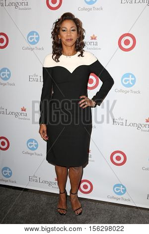 LOS ANGELES - NOV 10:  Holly Robinson Peete at the 5th Annual Eva Longoria Foundation Dinner at Four Seasons Beverly Hills  on November 10, 2016 in Beverly Hills, CA