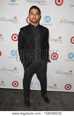 LOS ANGELES - NOV 10:  Wilmer Valderrama at the 5th Annual Eva Longoria Foundation Dinner at Four Seasons Beverly Hills  on November 10, 2016 in Beverly Hills, CA